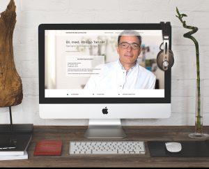 Homepage-erstellung-Arztpraxis-Muenchen-Dr-Tanner-neurochirurg