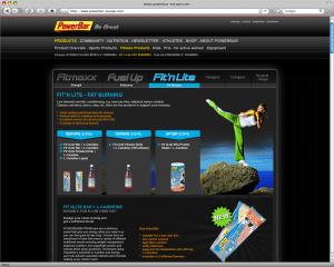 Webdesign PowerBar