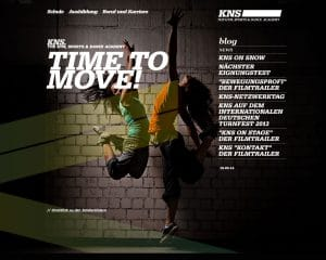 Webdesign KNS-Move München